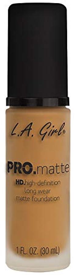 クローンそのかんがいL.A. GIRL Pro Matte Foundation - Espresso (並行輸入品)