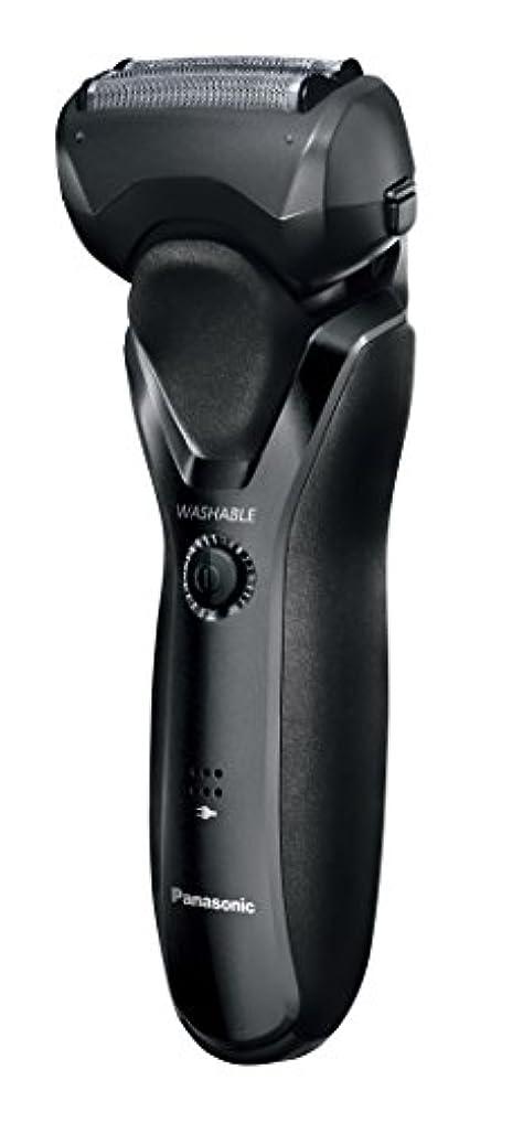 米国九月敬の念パナソニック メンズシェーバー 3枚刃 黒 ES-RT26-K