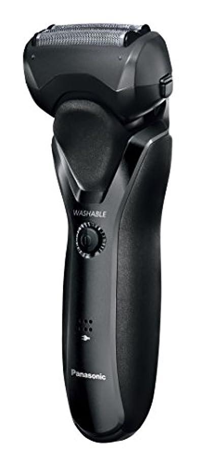 資産緑束パナソニック メンズシェーバー 3枚刃 黒 ES-RT26-K