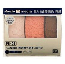 カネボウ メディア グラデカラーアイシャドウ PU-01