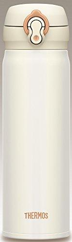 サーモス 水筒 真空断熱ケータイマグ 【ワンタッチオープンタイプ】 500ml パールホワイト JNL-502 PRW