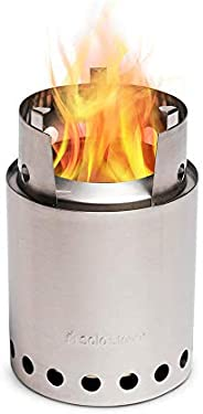 Solo Stove Titan - 2-4 Person Lightweight Wood Burning Stove. Compact Camp Stove Kit for Backpacking, Camping,