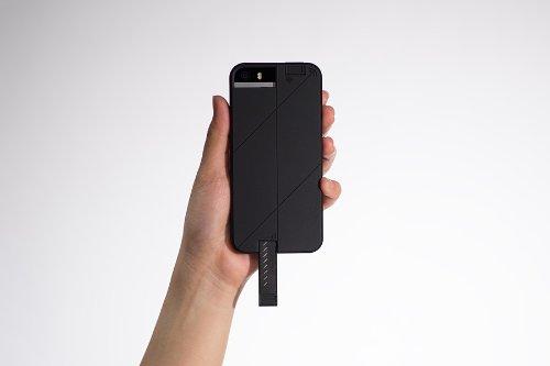 【国内正規品】ABSOLUTE technology・LINKASE PRO for iPhone5/5S (ブラック)・3G/4G/WIFIシグナル拡張ケース
