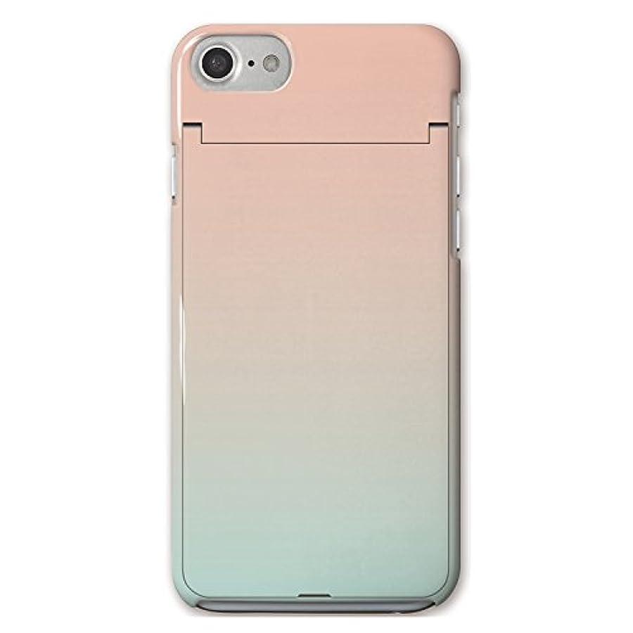 アルファベット順隣接ムスタチオCollaBorn iPhoneケース Gradation Orange ハードケース iPhoneSE(第2世代)/8/7/6s/6