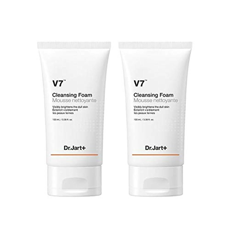 平野終了する最少ドクタージャルトゥV7クレンジングフォーム100mlx2本セット韓国コスメ、Dr.Jart V7 Cleansing Foam 100ml x 2ea Set Korean Cosmetics [並行輸入品]