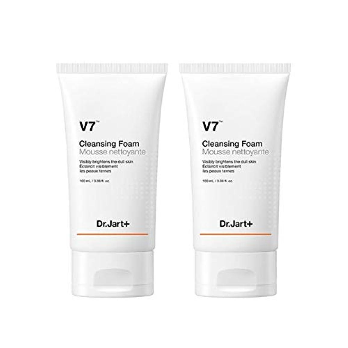 ドラムガードビンドクタージャルトゥV7クレンジングフォーム100mlx2本セット韓国コスメ、Dr.Jart V7 Cleansing Foam 100ml x 2ea Set Korean Cosmetics [並行輸入品]