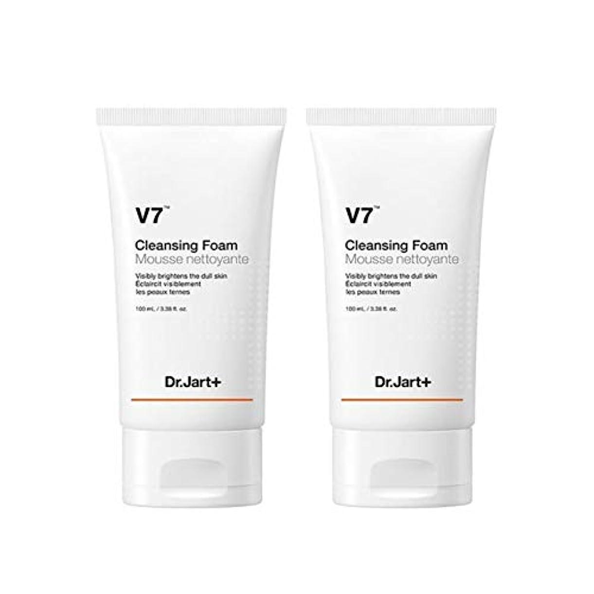 いろいろケージ苦痛ドクタージャルトゥV7クレンジングフォーム100mlx2本セット韓国コスメ、Dr.Jart V7 Cleansing Foam 100ml x 2ea Set Korean Cosmetics [並行輸入品]