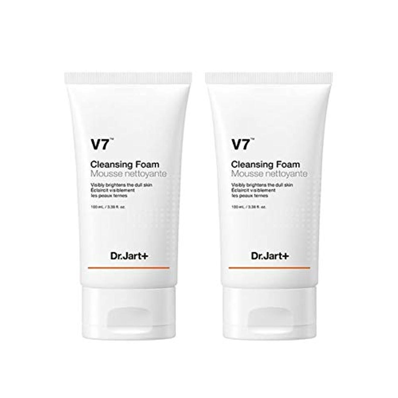 わかるアナログ傾くドクタージャルトゥV7クレンジングフォーム100mlx2本セット韓国コスメ、Dr.Jart V7 Cleansing Foam 100ml x 2ea Set Korean Cosmetics [並行輸入品]