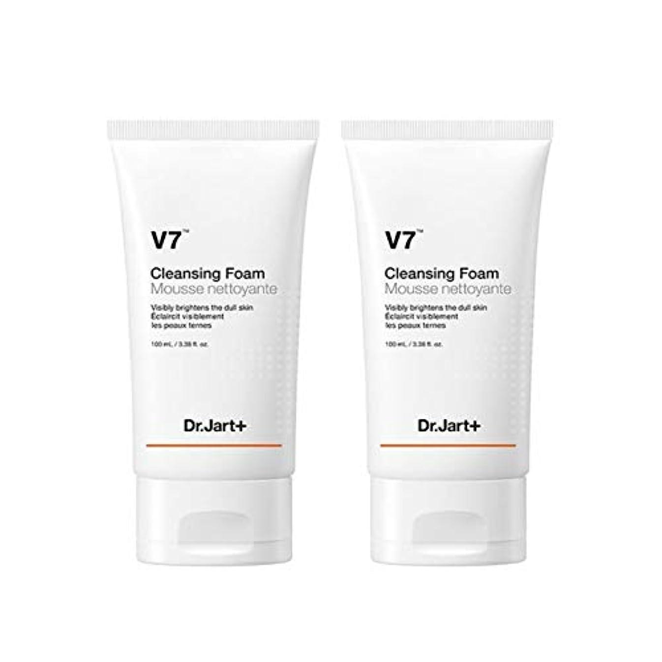 インターネット発行何故なのドクタージャルトゥV7クレンジングフォーム100mlx2本セット韓国コスメ、Dr.Jart V7 Cleansing Foam 100ml x 2ea Set Korean Cosmetics [並行輸入品]