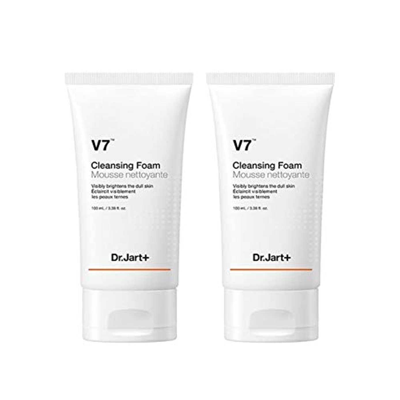 ドクタージャルトゥV7クレンジングフォーム100mlx2本セット韓国コスメ、Dr.Jart V7 Cleansing Foam 100ml x 2ea Set Korean Cosmetics [並行輸入品]