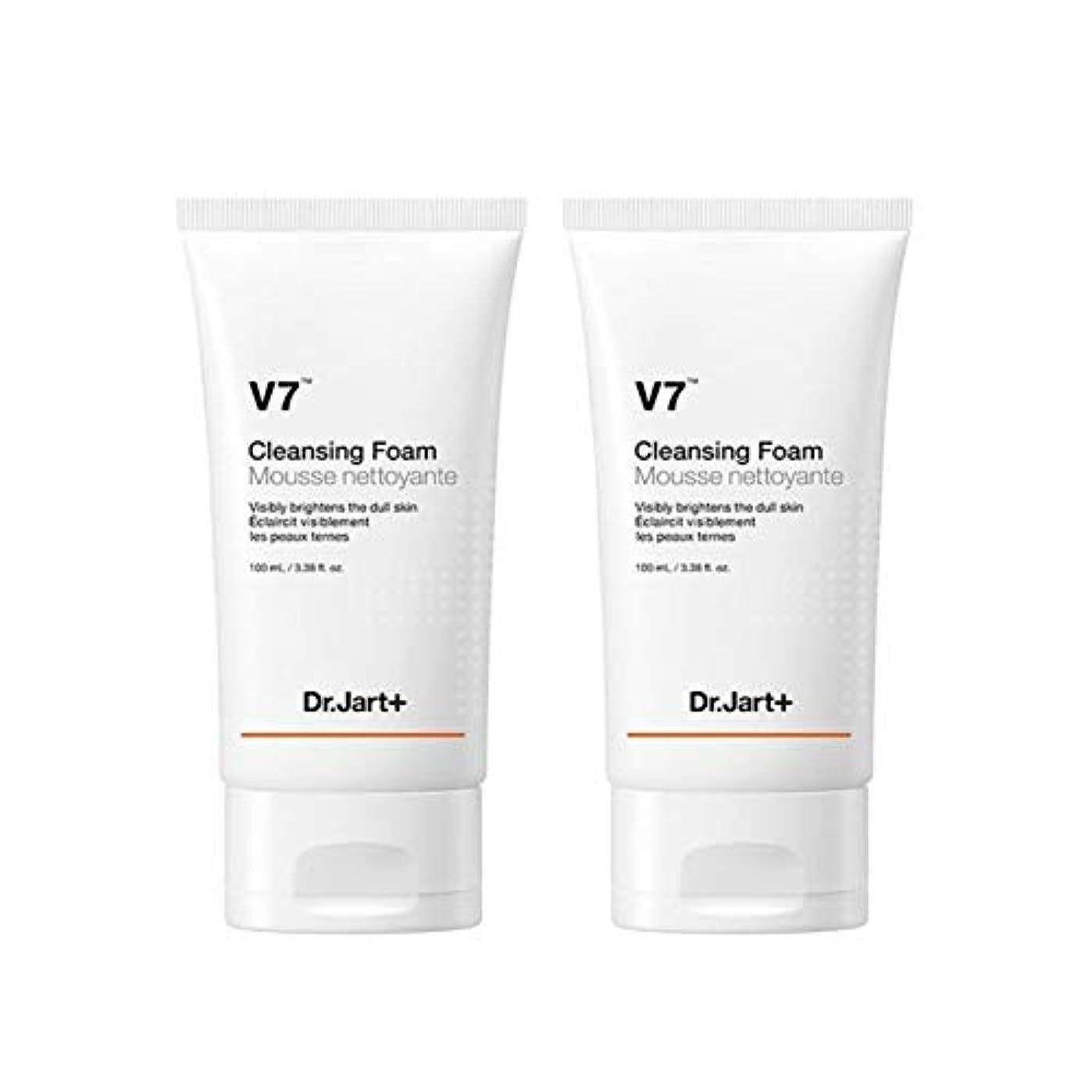 アクロバット仕える共和国ドクタージャルトゥV7クレンジングフォーム100mlx2本セット韓国コスメ、Dr.Jart V7 Cleansing Foam 100ml x 2ea Set Korean Cosmetics [並行輸入品]