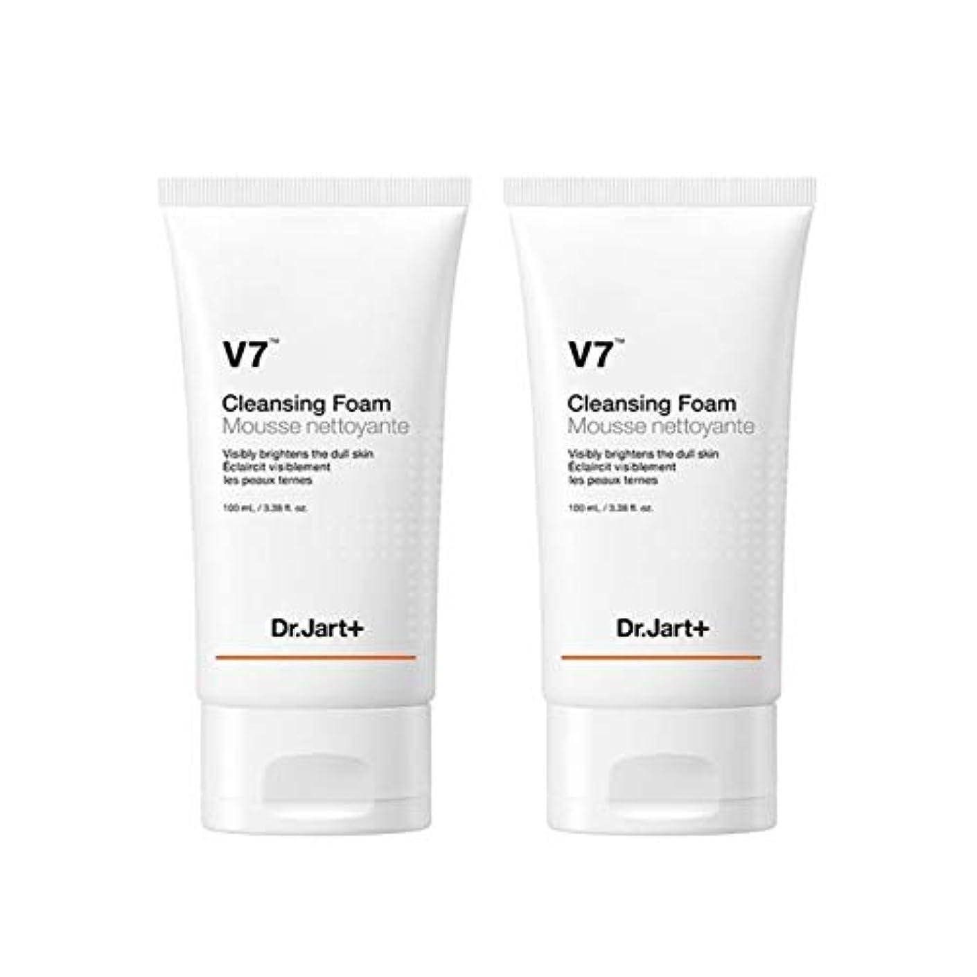 ラオス人鏡憲法ドクタージャルトゥV7クレンジングフォーム100mlx2本セット韓国コスメ、Dr.Jart V7 Cleansing Foam 100ml x 2ea Set Korean Cosmetics [並行輸入品]