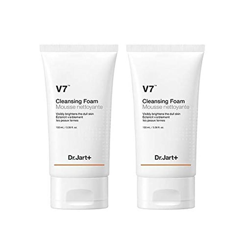 有用方法論スラダムドクタージャルトゥV7クレンジングフォーム100mlx2本セット韓国コスメ、Dr.Jart V7 Cleansing Foam 100ml x 2ea Set Korean Cosmetics [並行輸入品]