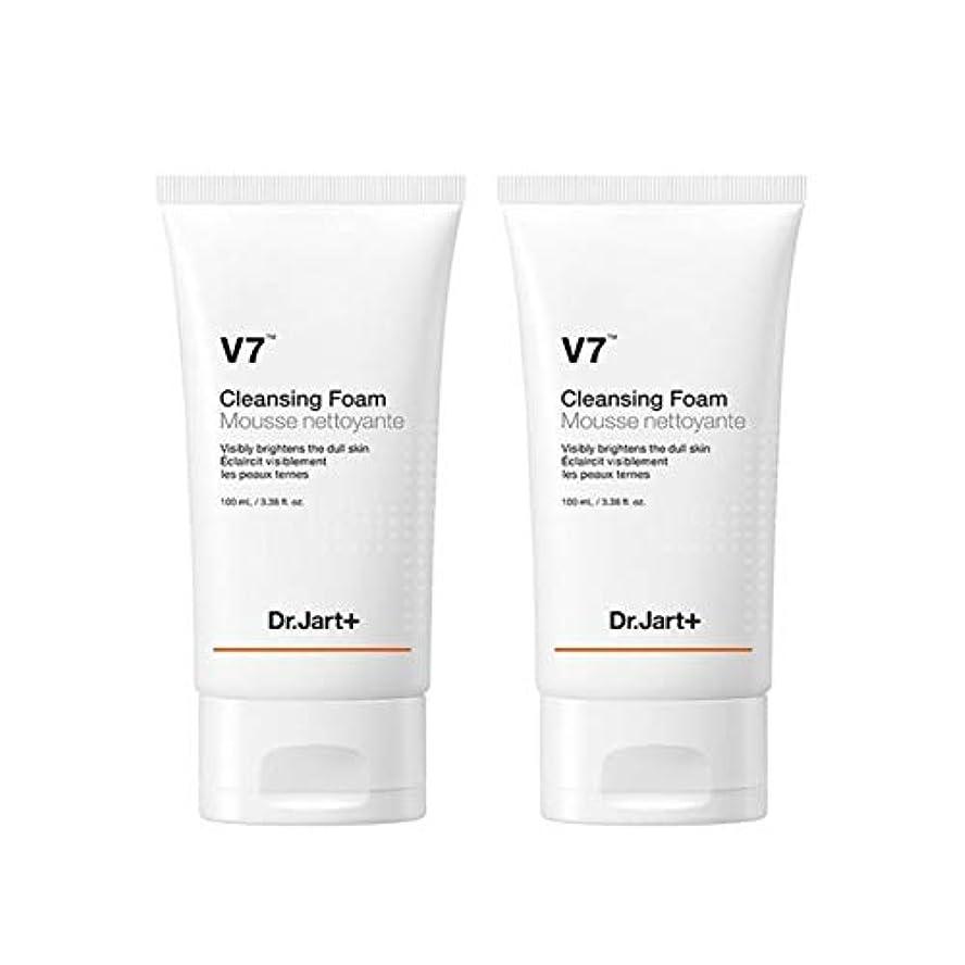 ミスペンド案件妨げるドクタージャルトゥV7クレンジングフォーム100mlx2本セット韓国コスメ、Dr.Jart V7 Cleansing Foam 100ml x 2ea Set Korean Cosmetics [並行輸入品]