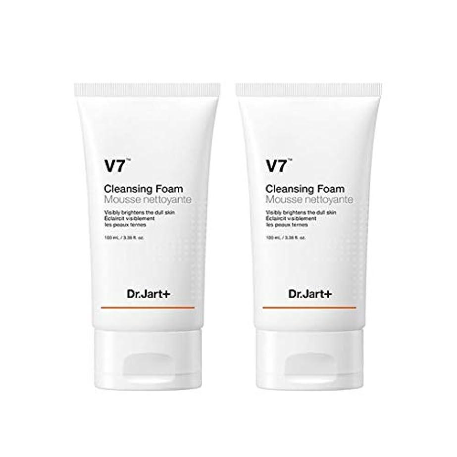 アルカトラズ島位置づける恩恵ドクタージャルトゥV7クレンジングフォーム100mlx2本セット韓国コスメ、Dr.Jart V7 Cleansing Foam 100ml x 2ea Set Korean Cosmetics [並行輸入品]