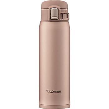 象印マホービン(ZOJIRUSHI) 水筒 ステンレス マグ ボトル 直飲み 軽量 保冷 保温 ワンタッチ オープン タイプ 軽量 コンパクト 480ml マットゴールド SM-SD48-NM