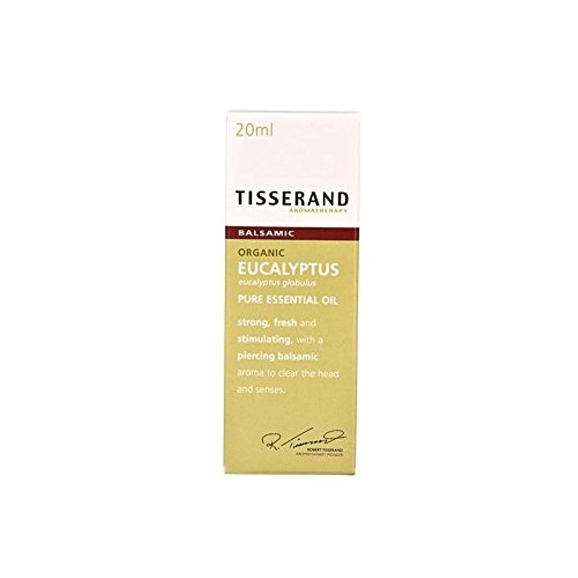 スクリューシートバッフルユーカリ有機純粋なエッセンシャルオイル20ミリリットル (Tisserand) - Tisserand Eucalyptus Organic Pure Essential Oil 20ml [並行輸入品]