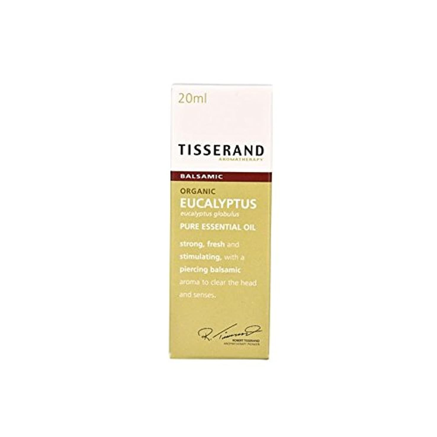 泥沼影動的ユーカリ有機純粋なエッセンシャルオイル20ミリリットル (Tisserand) (x 2) - Tisserand Eucalyptus Organic Pure Essential Oil 20ml (Pack of...