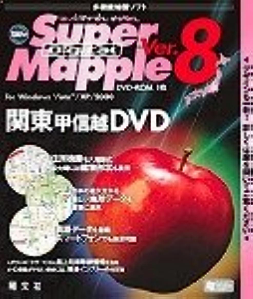 強調交通渋滞懲らしめSuper Mapple Digital Ver.8 関東甲信越DVD