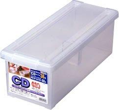 天馬 いれと庫 CD収納ボックス クリア