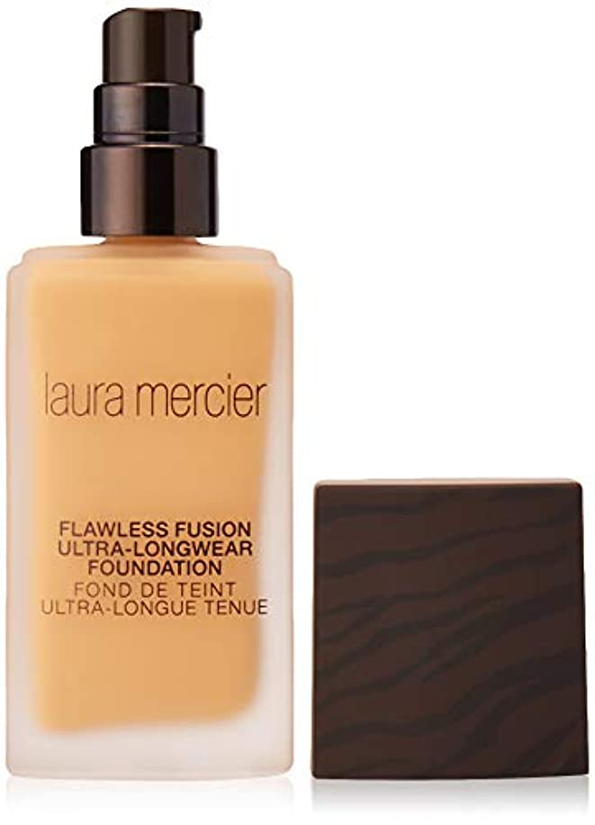 足ハブサーキットに行くLaura Mercier Flawless Fusion Ultra-Longwear Foundation - Butterscotch 1oz (29ml)