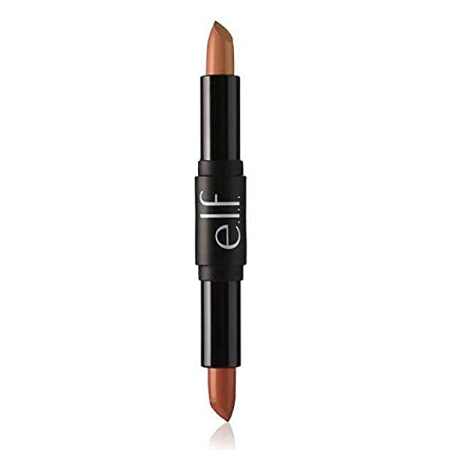 [Elf ] エルフ。 Nght口紅デュオへの一日は、それがヌード必要 - e.l.f. Day To Nght Lipstick Duo Need It Nudes [並行輸入品]