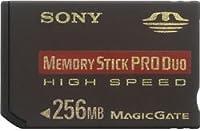 SONY メモリースティックPROデュオ(Hi-Speed)256MB [MSX-M256NU]