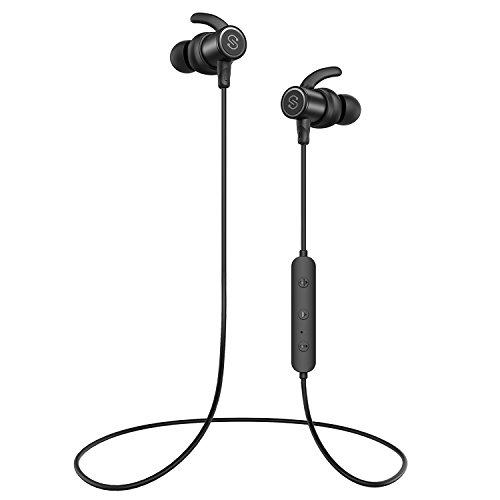 【防水進化版 IPX6対応】SoundPEATS(サウンドピーツ) Q30 Plus Bluetooth イヤホン 10MMドライバー搭載 高音質 [メーカー1年保証] 低音重視 8時間連続再生 aptXコーデック採用 人間工学設計 マグネット搭載 CVC6.0ノイズキャンセリング マイク付き ハンズフリー通話 ブルートゥース イヤホン IP6X防塵 ワイヤレス イヤホン Bluetooth ヘッドホン (ブラック)