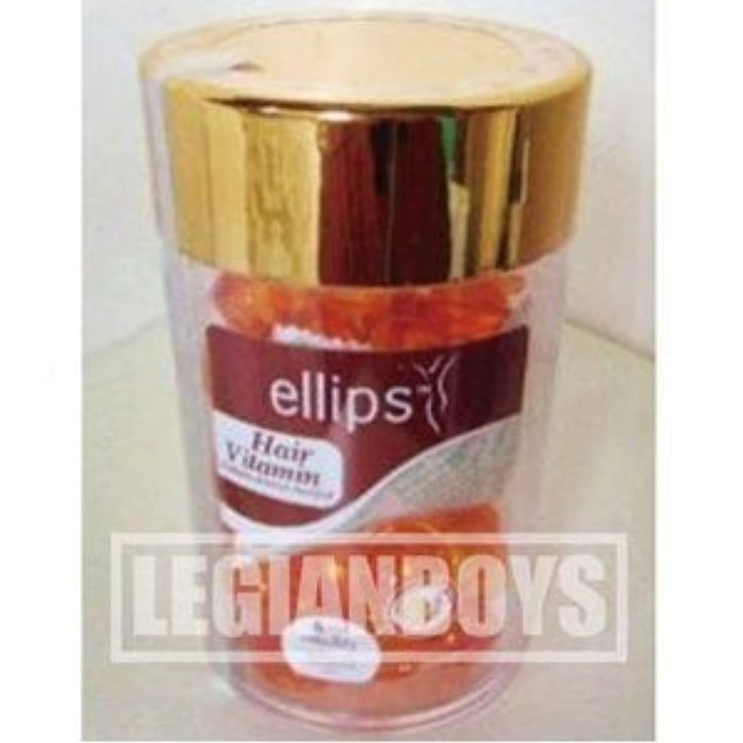 保証する気付く魅力的ヘアケアトリートメント エリプス・ヘアビタミン【オレンジ】1ml×50粒入** ellips Hair Vitaminインドネシア