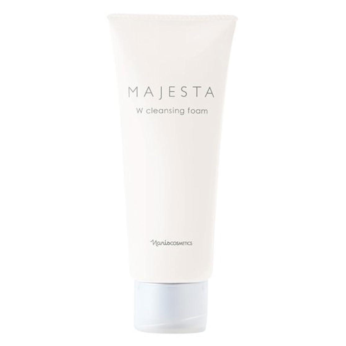 安定しました禁じる純正ナリス化粧品 マジェスタ Wクレンジング フォーム(クレンジング?洗顔料) 100g