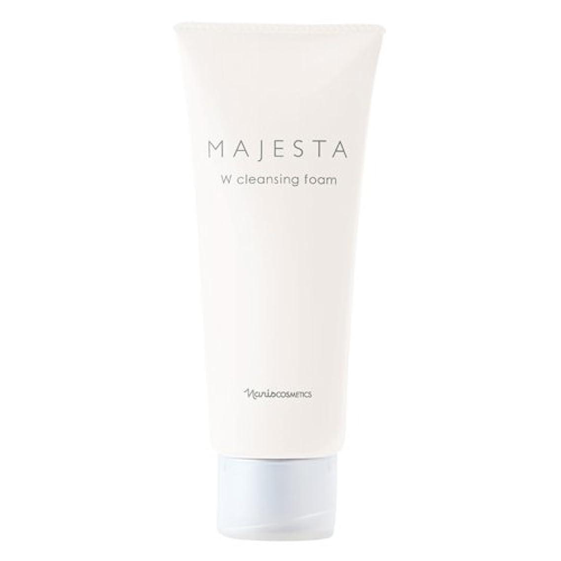 罹患率フットボールライターナリス化粧品 マジェスタ Wクレンジング フォーム(クレンジング?洗顔料) 100g