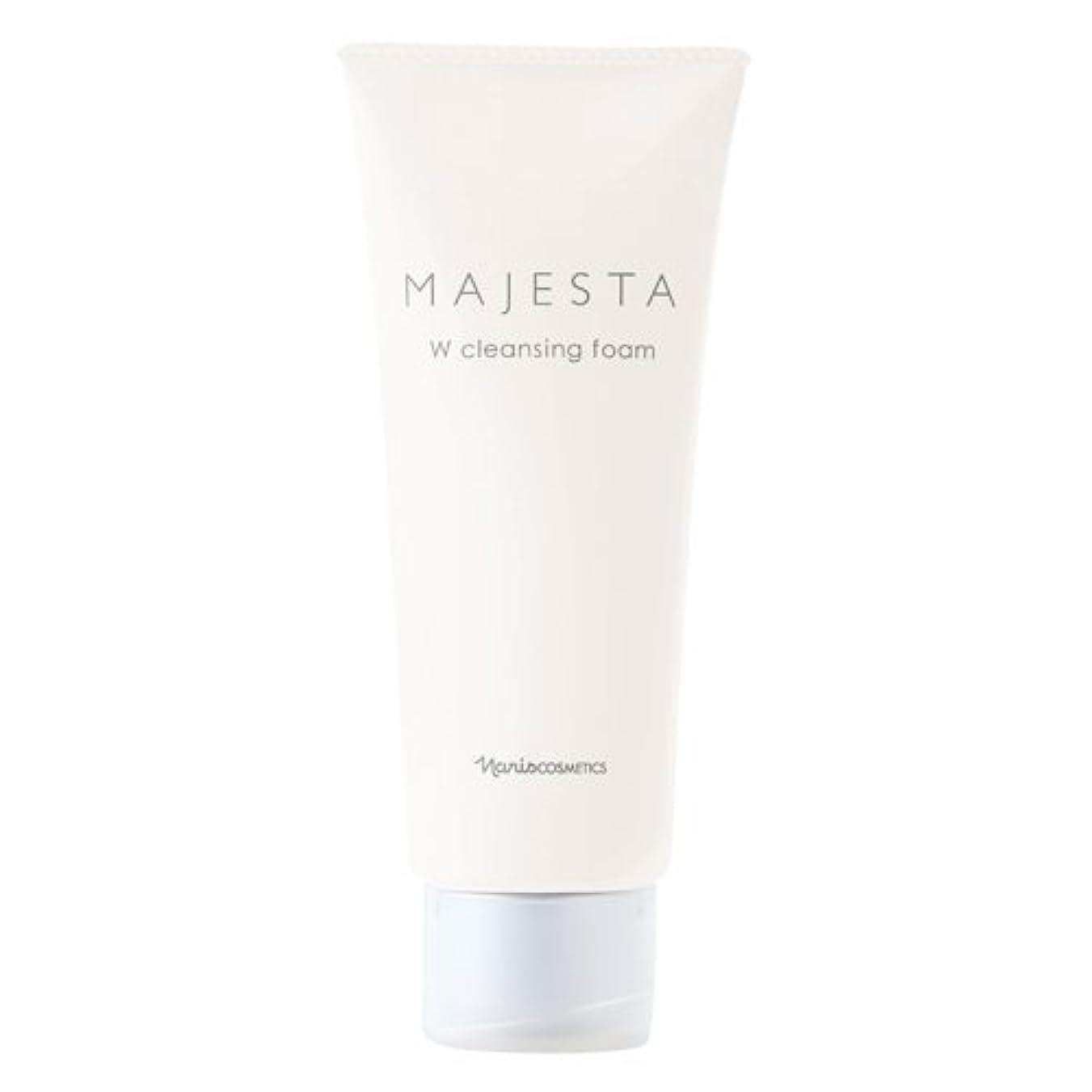 めったに潤滑する所属ナリス化粧品 マジェスタ Wクレンジング フォーム(クレンジング?洗顔料) 100g