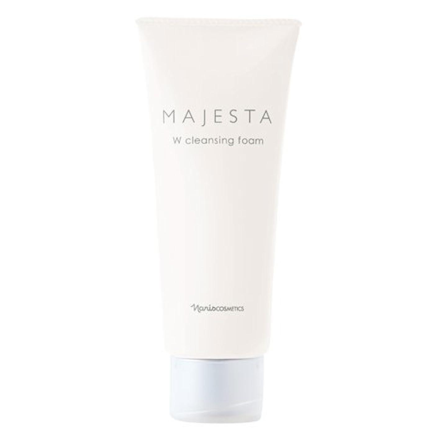 用量アクティブ一見ナリス化粧品 マジェスタ Wクレンジング フォーム(クレンジング?洗顔料) 100g