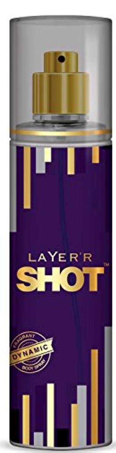 必要着陸冒険Layer'r Shot Gold Perfume, Dynamic, 135ml