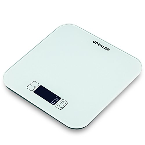 クッキングスケール デジタル キッチンスケール GDEALER 料理はかり 3g/10kg 風袋引き