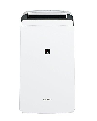 シャープ 除湿機 衣類乾燥 プラズマクラスター 12L ホワイト CV-H120W