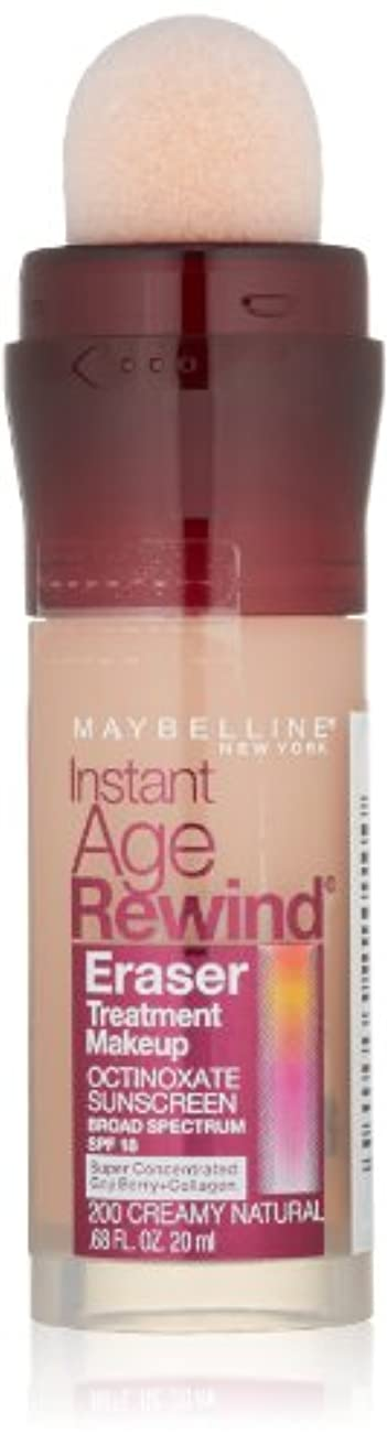 カード隔離習字MAYBELLINE Instant Age Rewind Eraser Treatment Makeup - Creamy Natural (並行輸入品)
