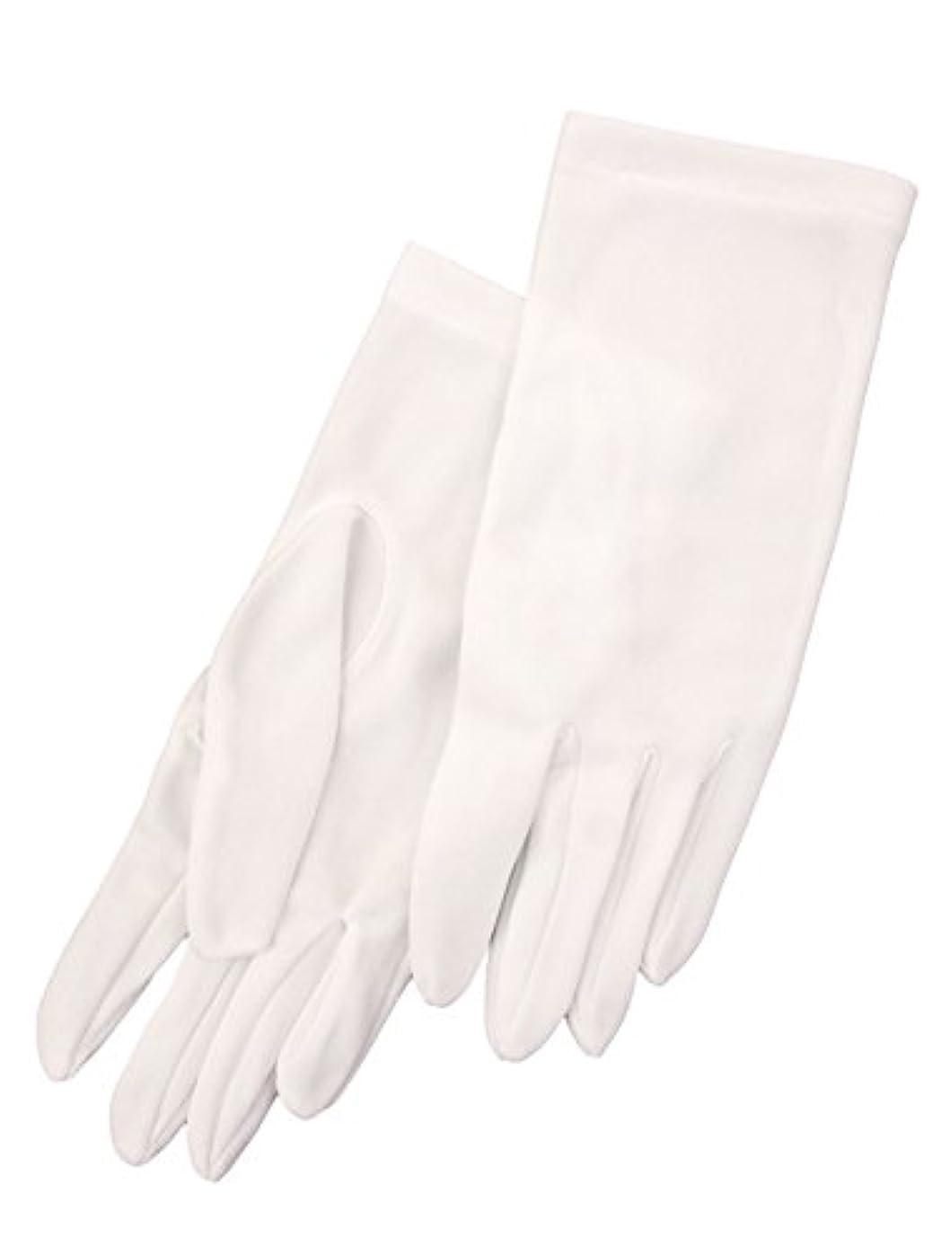 面干し草無臭婦人 白ナイロン手袋 23000 ホワイト M
