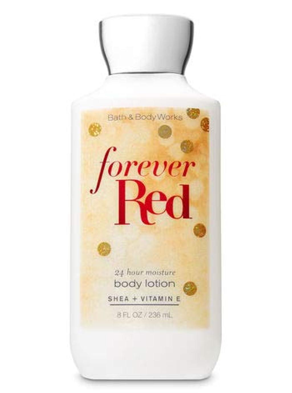 管理する解明するパスポート【Bath&Body Works/バス&ボディワークス】 ボディローション フォーエバーレッド Super Smooth Body Lotion Forever Red 8 fl oz / 236 mL [並行輸入品]