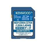 ケンウッド 地図更新SDカード (Z904/Z704/L504/L404他用)KENWOOD KNA-MD17A