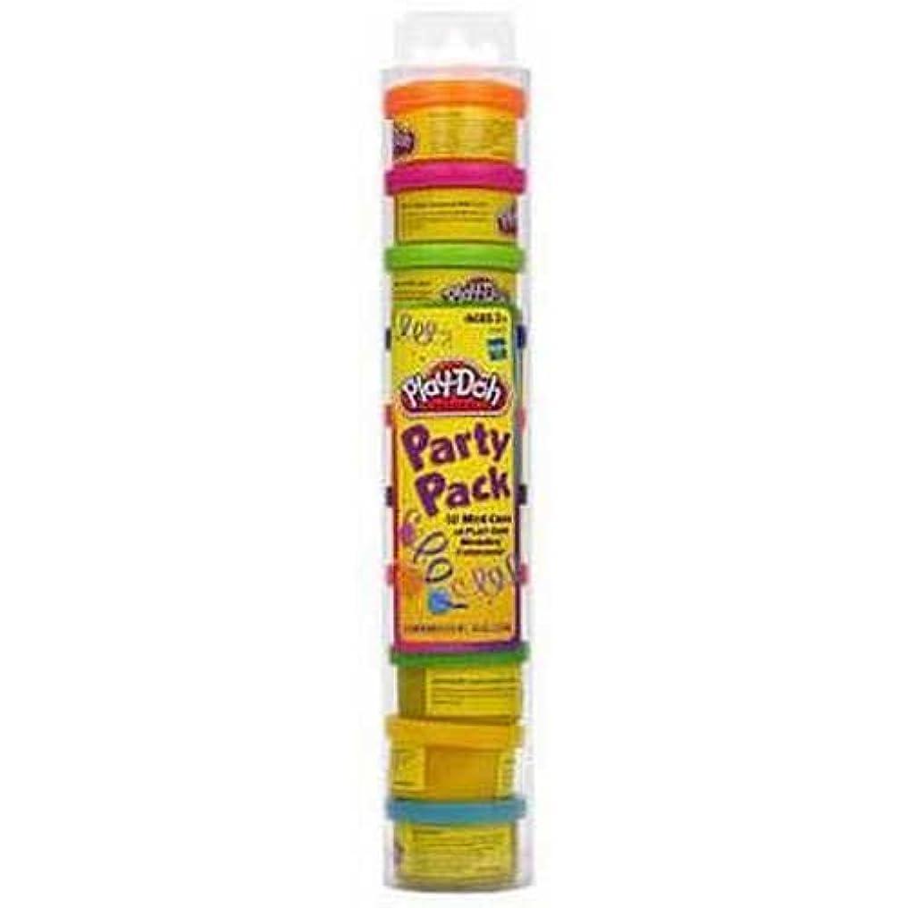 Play Doh パーティーパックチューブ 1パック10個入り 1ケース3個入り