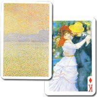 【モネ、ルノワール、セザンヌ 印象派作品55点】 印象派トランプ