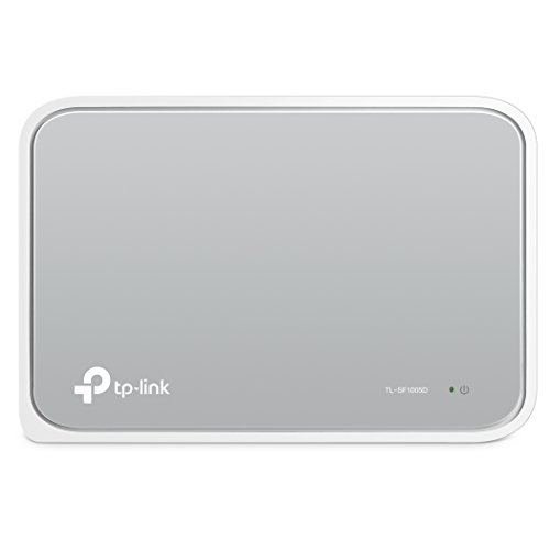 TP-Link スイッチングハブ 5ポート 10/100Mbps プラスチック筺体 TL-SF1005D