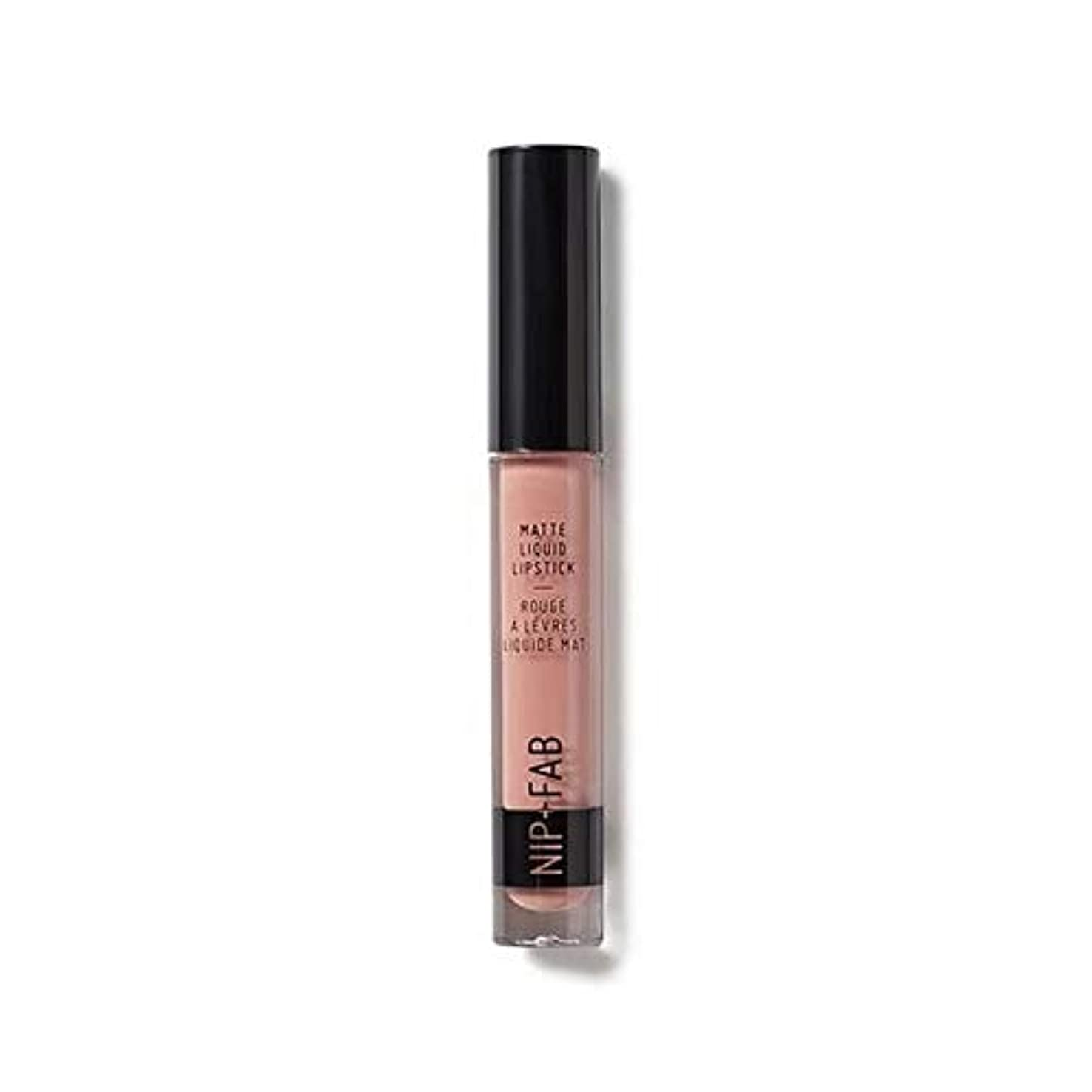 スピン食物講堂[Nip & Fab ] マット液状口紅2.6ミリリットルのタフィー20を構成するFab +ニップ - NIP+FAB Make Up Matte Liquid Lipstick 2.6ml Toffee 20 [並行輸入品]