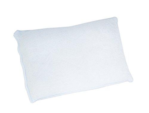 枕カバー  やわらか タオル地 綿 シンカーパイル 35×50 ブルー 49035BL