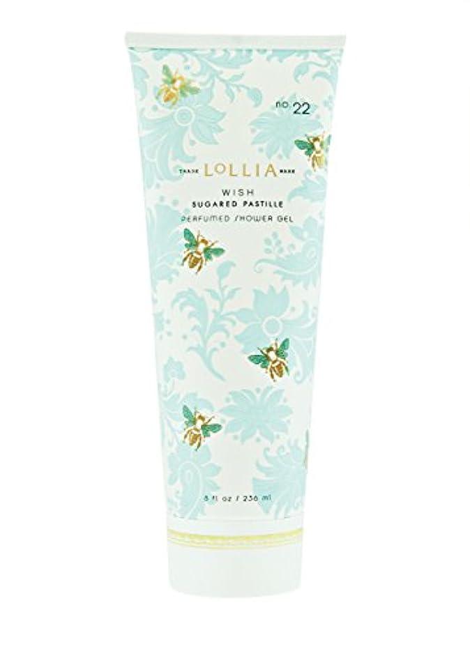 またはどちらかクラウンストリップロリア(LoLLIA) パフュームドシャワージェル Wish 236ml(全身用洗浄料 ボディーソープ ジャスミン、イランイラン、アンバー、ベルガモットの香り)