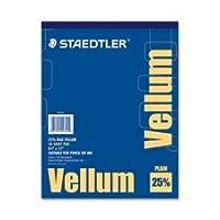 """Vellumパッド、16lb。、50シート、8–1/ 2"""" x11, Sold as 1パッド、50各パッドあたり"""