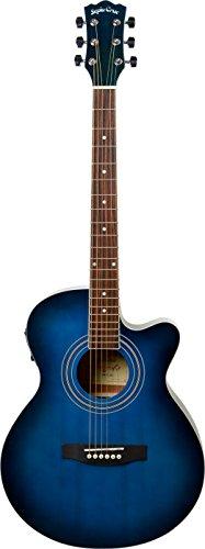 SepiaCrue セピアクルー  4534853523448 エレクトリックアコースティックギター EAW-01/BLS ブルーサンバースト ソフトケース付き