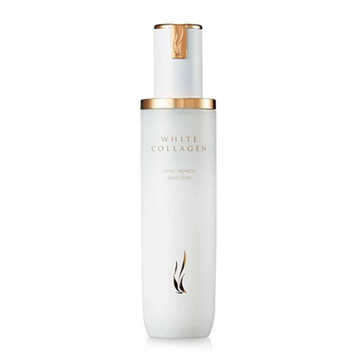 チャットユーモア特定の[New] A.H.C (AHC) White Collagen Total Remedy Emulsion 130ml/A.H.C ホワイト コラーゲン トータル レミディ エマルジョン 130ml [並行輸入品]