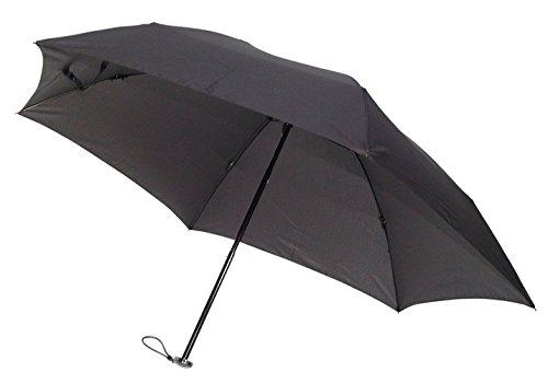 ユビオン 全3色 折りたたみ傘 手開き ブラック 6本骨 50...